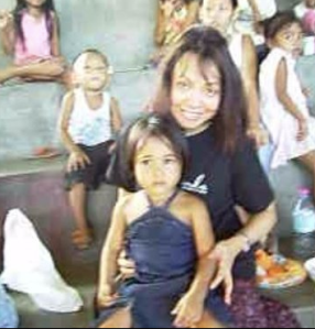 This pic was from a Feeding Program for street kids in Cebu.  (Photo taken by one of the kids) ♥♥♥  ***Cebu - a beautiful place filled with lots of memories.
